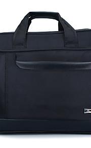 16inch mayor bolsa de hombro extensionable para el ordenador portátil / hombre / negro negocio