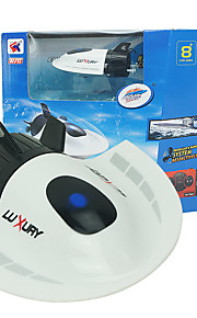 barco rc brinquedo mini-submarino velocidade alimentado controle remoto barco 2,4 g turística plástico barco brinquedos submarinos para