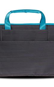 gearmax® 13inch de un solo hombro bolsa de ordenador portátil de color de caramelo negro / azul / rosa