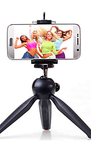 Yunteng 228 stativ selfie sticks med klemme til telefon og kamera