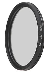 emoblitz 67 milímetros CPL lente filtro polarizador circular