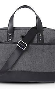 15.6inch handheld zakelijke laptop tas / sleeve zwart