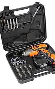 Electric Screwdriver Set Screw 45PCS Versatile Handling Tool Battery