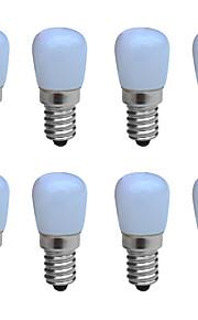3W E14 LED-lysestakepærer B 1 COB 160 lm Varm hvit / Kjølig hvit Dekorativ AC 220-240 V 8 stk