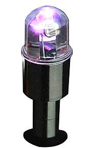 2 Pcs Intelligent Dual Sense Of Light Vehicle Tires Colorful Lights Valve Hub Lights