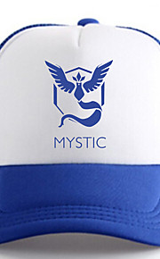Pocket Little Monster Mystic Blue Adjustable Tennis Cap
