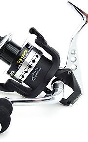Spinning Reels 5.5/1 10 Ball Bearings Exchangable Bait Casting / General Fishing-GSA5000 Lieyuwang