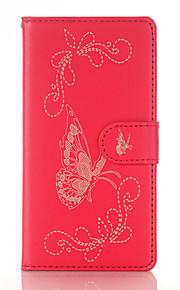 На все тело Визитница / с подставкой / Узор Other Искусственная кожа Мягкий Card Holder Для крышки случая HuaweiHuawei P9 / Huawei P9