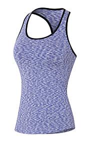 Hardlopen Sweatshirt / Singlet Dames Mouwloos Ademend / Sneldrogend / Compressie / Zweetafvoerend / Stretch Yoga / Fitness / Hardlopen