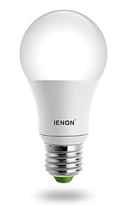 7W E26/E27 LED-globepærer A60(A19) 1 COB 560-630 lm Varm hvit / Kjølig hvit Dekorativ AC 100-240 V 1 stk.
