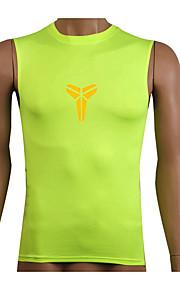 Course Shirt / Costume de compression/Sous maillot / Débardeur Homme Sans mancheRespirable / Séchage rapide / Compression /