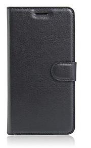 풀 바디 지갑 / 스탠드 / 튀기다 한색상 인조 가죽 하드 Flip  with Stand Wallet Ultra-thin 케이스 커버를 들어 OtherAlcatel GO Play OT7048X / Alcatel One Touch Flash 2 /
