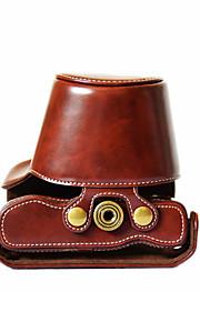 EM10 Camera Case (Crazy Horse Leather) For Olympus EM10(Black/Brown/Coffee)