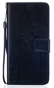 Hel kropp Korthållare / plånbok / med stativ Maskros PU-läder Mjuk 可插卡.带支架.全包防摔 Fallet täcker för Samsung GalaxyS7 edge / S7 / S6 edge