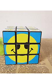 Legetøj / Magiske terninger 3*3*3 / Magic Toy Glat Speed Cube Magic Cube puslespil Regnbue Plastik