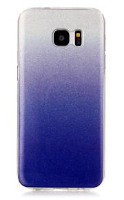 indietro IMD Glitterato TPU Morbido IMD Copertura di caso per Samsung Galaxy S7 edge / S7 / S6 edge / S6 / S5 / S4 / S3