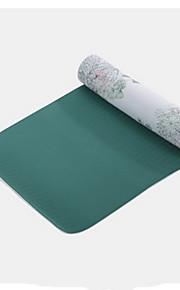PVC Tapis de Yoga Ecologique Sans odeur 3.5 mm Vert