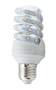 7W E26/E27 LED лампы типа Корн Трубка 40 SMD 2835 600 lm Тёплый белый / Холодный белый Декоративная AC 85-265 V 1 шт.