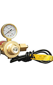 Full Carbon Dioxide Pressure Reducer Brazing Fittings Gas Meter Instrument (36V)