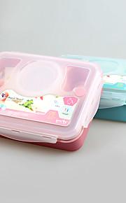 yooyee respetuoso del medio ambiente de 3 compartimientos fábrica de envases caja de almuerzo Bento China