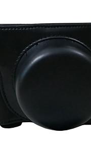 Bolsa-Preto / Café / Marrom-Á Prova-de-Pó-Um Ombro-Nikon-SLR