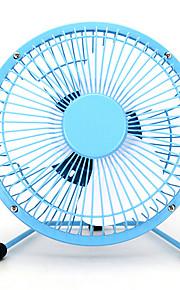 mini draagbare usb laag geluidsniveau 6 inch metal fans