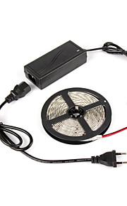 # 1 M 180 5050 SMD Rød / Blå Selvklebende W Fleksible LED-lysstriper DC12 V