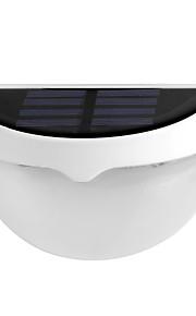 2 개 태양 광 방수 IP55 6 집 장식 화이트 따뜻한 위해 태양 광 램프 야외 조명 벽 램프를 주도