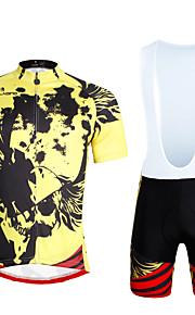 PALADIN Fahhrad/Radsport Kleidungs-Sets/Anzüge Herrn / Unisex Kurze ÄrmelAtmungsaktiv / UV-resistant / Rasche Trocknung / Reflexstreiffen