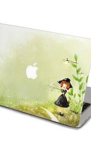 1 st Reptålig Genomskinlig plast Klistermärke Tecknat / Ultratunnt / Matt FörMacBook Pro 15 '' med Retina / MacBook Pro 15 '' / MacBook