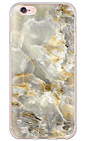 Funda Trasera Ultra-Fino / Traslúcido Mármol TPU Suave Cubierta del caso para Apple iPhone 6s Plus/6 Plus / iPhone 6s/6 / iPhone SE/5s/5