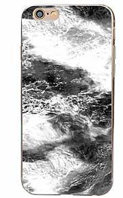 Bagcover Mønster Styroskum TPU Blød Tilfælde dække for Apple iPhone 6s Plus/6 Plus / iPhone 6s/6 / iPhone SE/5s/5