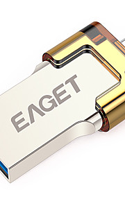 EAGET V80-16G 16GB USB 3.0 Niewielki rozmiar / Obsługa funkcji OTG (Micro USB) / Wodoszczelność / Odporny na wstrząsy
