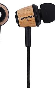 AWEI Q9 Hörlurar (öronsnäcka)ForMediaspelare/Tablet / Mobiltelefon / DatorWithBruskontroll