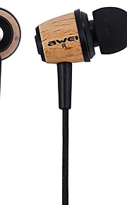 AWEI Q9 אוזניות (בתוך האוזן)Forנגד מדיה/ טאבלט / טלפון נייד / מחשבWithמבטל רעש