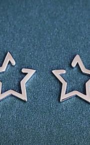 Øreringe Star Shape,Smykker 1pc Moderigtig Legering Sølv Daglig / Afslappet