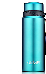 JIAKANG Stainless Steel Water Bottle Black / Blue / Red / Silver