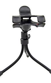 multifunktions trekant doven telefonholder mobiltelefon holder doven desktop fotografering metal kamera stativ
