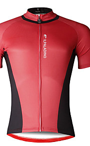 Breathable And Comfortable Paladin Summer Male Short Sleeve Cycling Jerseys DX703 Red And Black Stitching