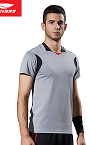 Carrera / Running Tops Hombres Mangas cortas Transpirable / Suave Poliéster Ejercicio y Fitness / Running Deportes® Ropa deportiva