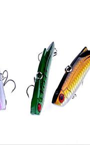 9cm 28g/PC New Fishing Gear Fishing Supplies Outdoor Long Shot Lure Bionic Bait VIB Lures 8pc/set