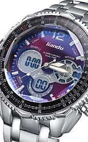 Masculino Relógio Esportivo / Relógio Militar / Relógio de Moda / Relógio de Pulso Digital / Quartzo JaponêsLED / Calendário /