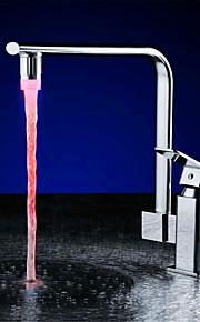 ledet vannsprut temperaturkontroll vannføring genererer temperatur på tre lys (abs galvanisering)