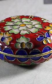Smykkeskrin Plastik 1pc Gul / Rød / Blå