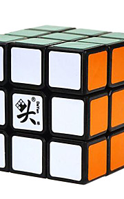 / Cube velocidade lisa 3*3*3 / apaziguadores do stress / Cubos Mágicos Arco-Íris Plástico