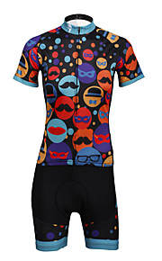 PaladinSport Women Cycyling Jersey  Shorts Suit DT714 Carnival