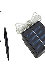 1pc 7m 50LED lumière chaîne solaire pour le mariage de fête de Noël a mené l'éclairage de Noël
