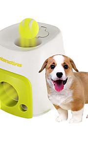 Hunde Haustierspielsachen Kugel / Interaktives Tennisball / Futterspender Grün Plastik