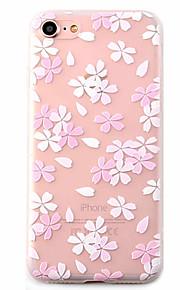 Skal Mönster Blomma TPU Mjuk Fallet täcker för Apple iPhone 7 Plus / iPhone 7 / iPhone 6s Plus/6 Plus / iPhone 6s/6