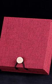 Smykkeskrin Papir 1pc Rød / Brun